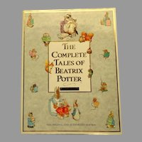 Complete Tales of Beatrix Potter.  F. Warne & Co. 1st Ed.  1989.  Fine Condition.