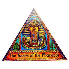 The Tombs of the Pharaohs.  A Three-Dimensional Discovery.  Incredible Pop-ups.  1994.  As New Condition.