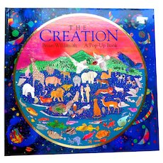 The Creation.  Amazing Pop-ups.  Beautifully Illustrated.  1996.  Perfect Condition.