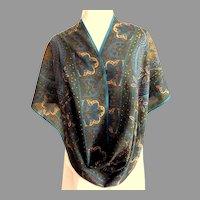 Rinaldo Carelli  Italian Designer 100% Very Fine Wool Scarf.  As New Condition.