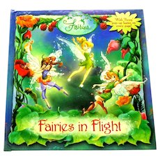 Fairies in Flight.  Disney.  Pop-up fairies on every page.  2007.  As New Condition.