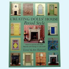 Creating Dolls' Houses Period Style.  Library of Fixtures and Fitting to Buy or Make.  Mint Condition.
