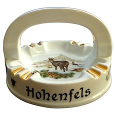 Stammtisch Ashtray.  Rod Gun Club.  Hohenfels Germany.  1965.  Perfect Condition.