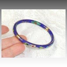 Cloisonné Bracelet - Bangle.  Beautiful.  Fine condition.