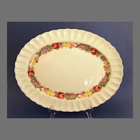 Large Spode Copeland English Platter.  Rose Briar Pattern.  Perfect Condition!