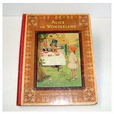 Alice in Wonderland. Raphael Tuck Publisher.  c. 1923.  Mabel Lucie Attwell  Illustrations!!