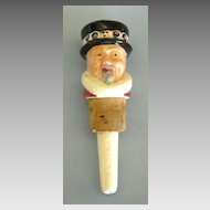 "Handsome Vintage James Burrough's ""Yeoman of the Guard"" Beefeater Gin Porcelain Pourer"