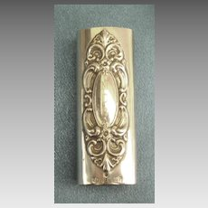 Elegant Vintage Silverplate Lighter Cover by Towle