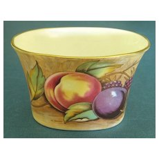 Lovely Vintage Singed English Aynsley Porcelain Toothpick Holder
