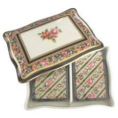 Vintage Wedgwood Porcelain Playing Cards Set