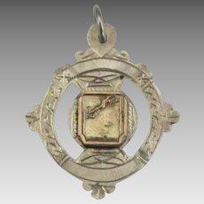 Vintage 1947 Sterling English Athletic Medal