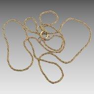 Lovely Vintage 14K Italian Yellow Gold Chain- 3.5 grams