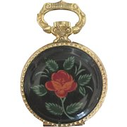 Vintage German Stowa Ladies Enamel Fob Watch