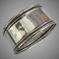 Elegant Vintage Sterling Napkin Ring- No Monogram