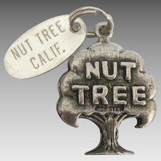 Vintage Sterling Nut Tree California Restaurant Charm