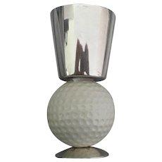 Vintage Signed Gucci Golf Ball Shot Glass