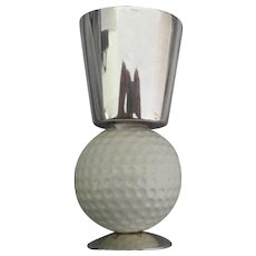 Vintage Signed Gucci Golf Ball Shot Glass