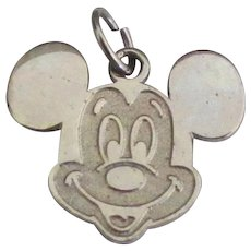 Vintage Authentic Disney Sterling Mickey Mouse Charm
