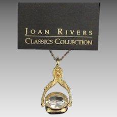Elegant John Rivers Classic Swivel Crystal Pendant