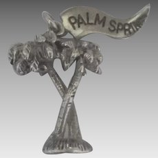 Vintage Sterling Palm Springs Charm