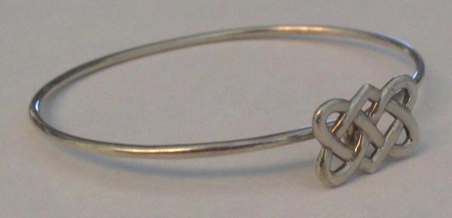 7912d72ea Signed Tiffany & Co Paloma Picasso Celtic Knot Sterling Bracelet. Click to  expand