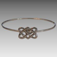 Signed Tiffany & Co Paloma Picasso Celtic Knot Sterling Bracelet
