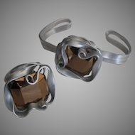 Glam Estate Flexible Bracelet and Ring Demi Parure