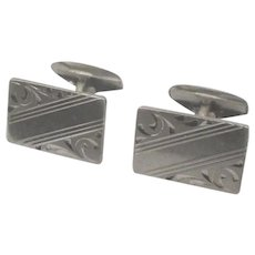 Vintage Art Deco Sterling Cufflinks