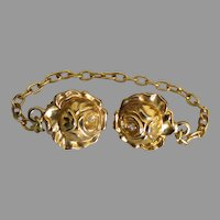 Lovely Vintage Roses Sweater Clip or Guard