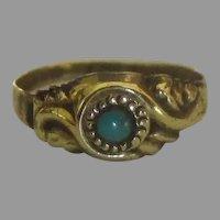 Victorian 10K Baby Child's Ring