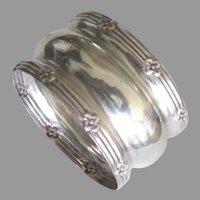 Vintage English Sterling Repousse Napkin Ring