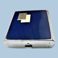 Circa 1916 BOURJOIS Art Deco Enamel Compact