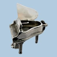 1950s Beau Sterling Grand Piano Mechanical Charm ... Opens!