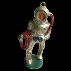RARE Manoil Lead Toy Soldier Deep Sea Diver Circa 1930's