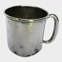 Circa 1870s-90's F.M. Whiting & Co. Sterling Silver Baby Cup