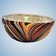 Limited Edition Missoni for Target Hand Blown Art Glass Bowl
