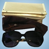 Black Tory Burch Sunglasses w. Case # TY 7014