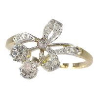 Charming Belle Époque Diamond Engagement Ring, 1900s