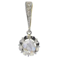Art Deco Diamond 18 Karat Gold Pendant, 1920s