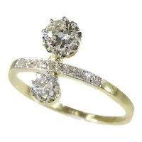 Belle Epoque Diamond Engagement Ring, 1910s               (ref. 17209-0047)