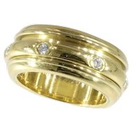 Piaget Gold and Diamond Possession Ring ca.1990