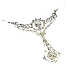 Belle Epoque Diamond Necklace Pendant