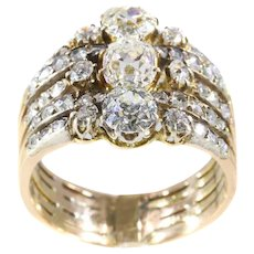 Fine Victorian diamond ring