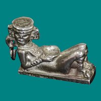 Chacmool Mexican Statue Sterling Silver Charm