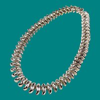 Erwin Pearl Silver Link Necklace