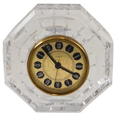 Waterford Crystal Lismore Mantle - Desk Clock