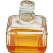 Baccarat Crystal Perfume Bottle France Rectangular