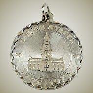 Vintage Bicentennial Crea Sterling Silver Charm