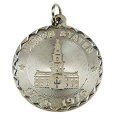 Vintage Bicentennial Crea Sterling Silver Charm