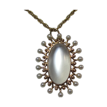 Moonstone  Antique Jewelry
